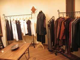自然素材衣服